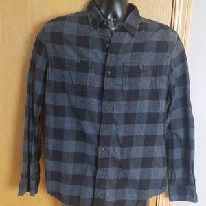 Men's American Eagle blk/grey flannel ... Medium